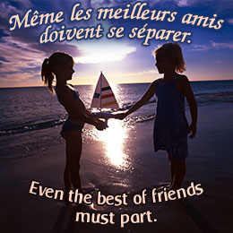 French Quotes About Friendship 13