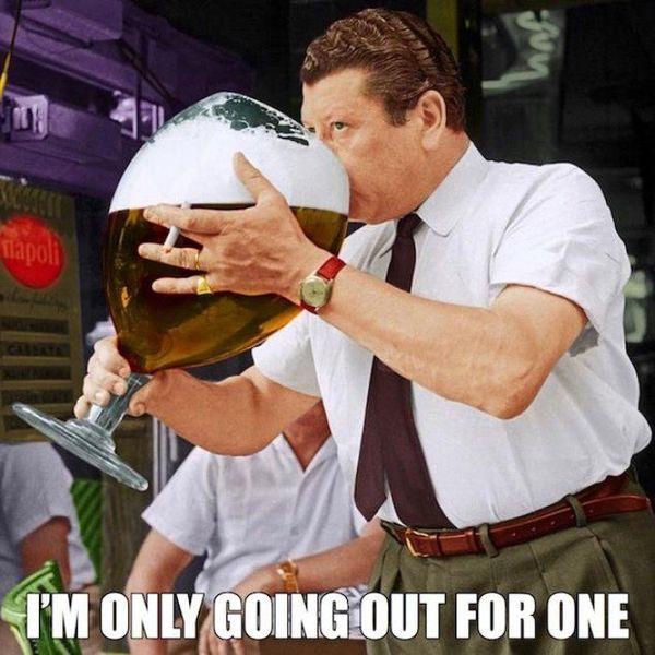 Funny Alcohol is bad meme joke