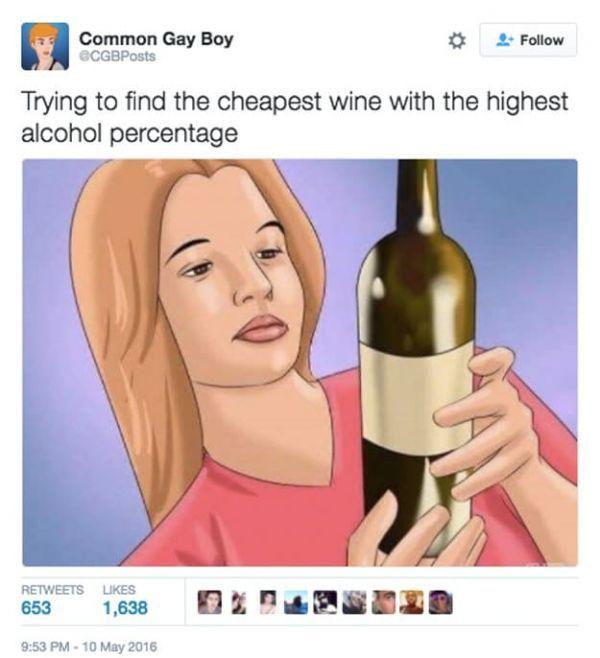 Funny Alcoholic meme image