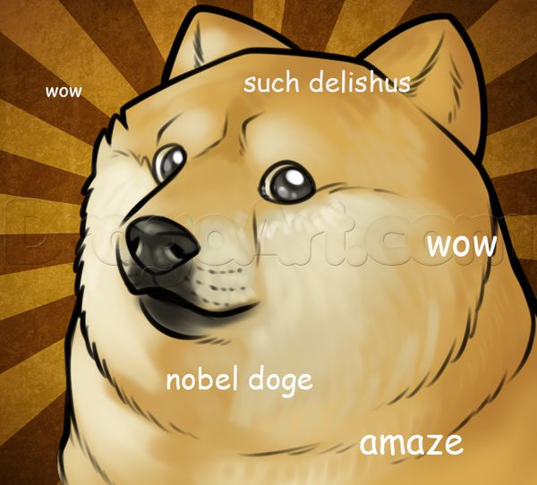 Funny Doge Cartoon Image