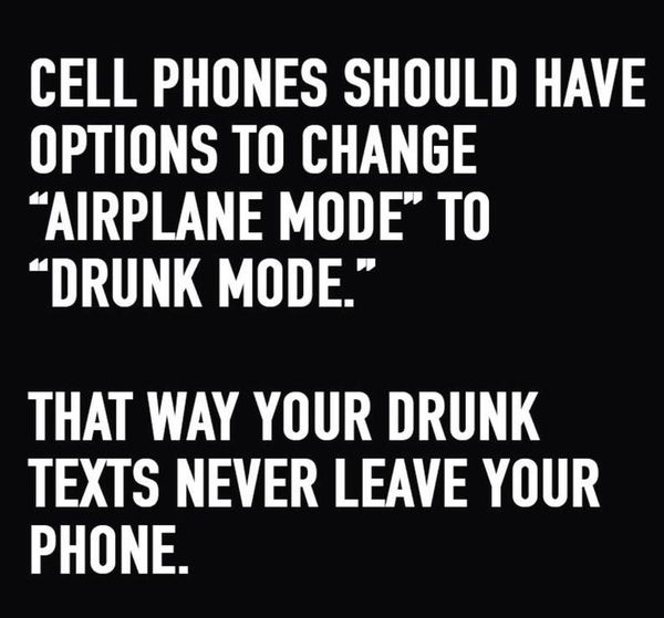 Funny drunk texting meme Image