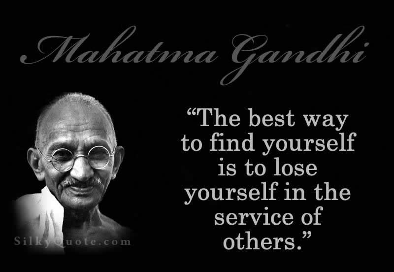 Gandhi Quotes On Love 17