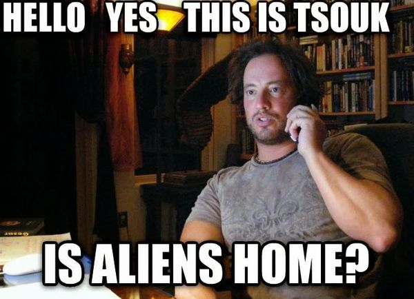 Giorgio tsoukalos aliens meme photo