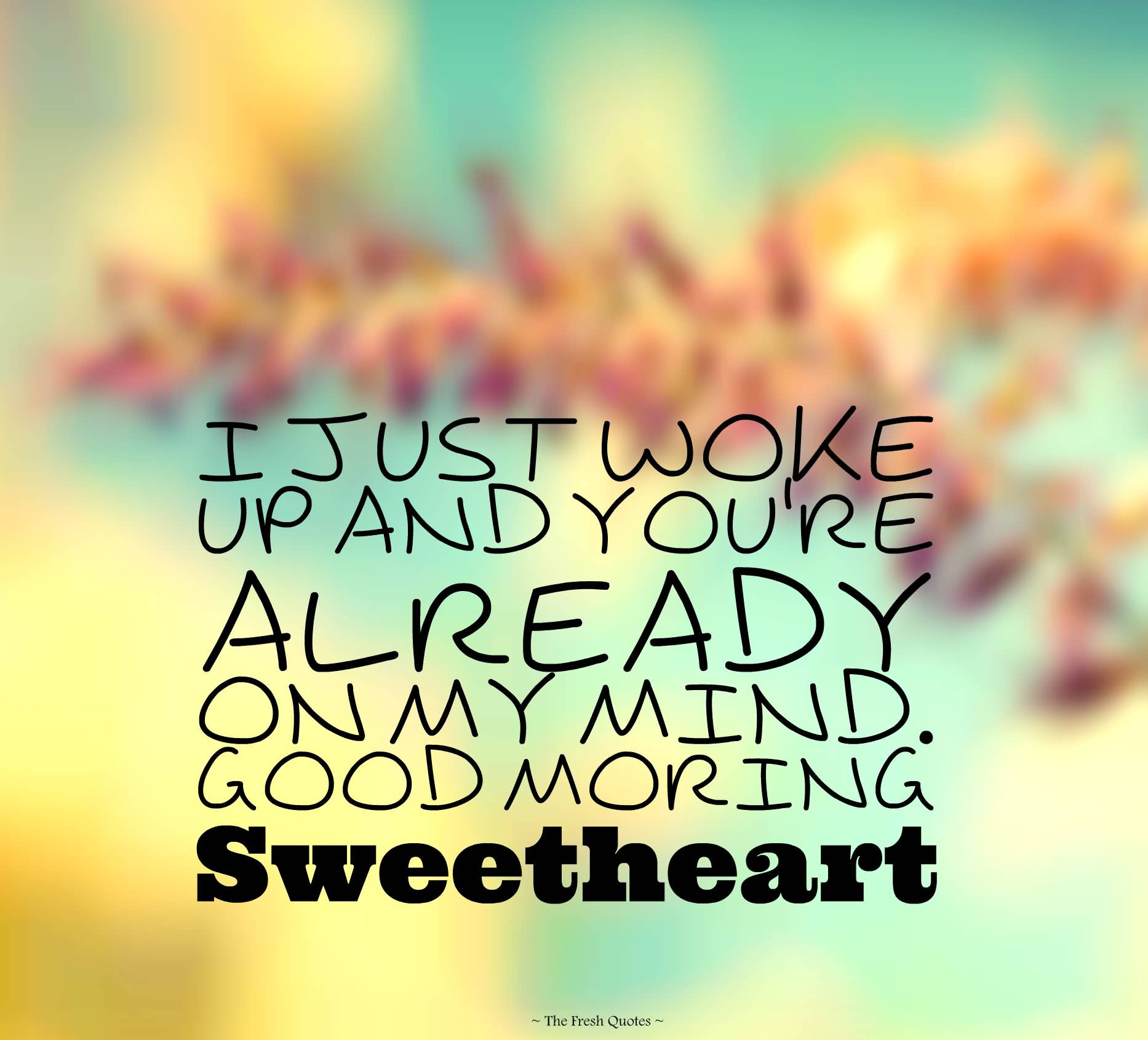 Good Morning Love Quotes 11