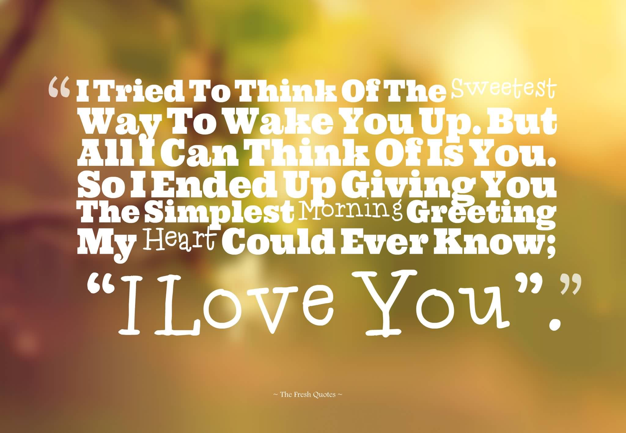 Good Morning Love Quotes 16