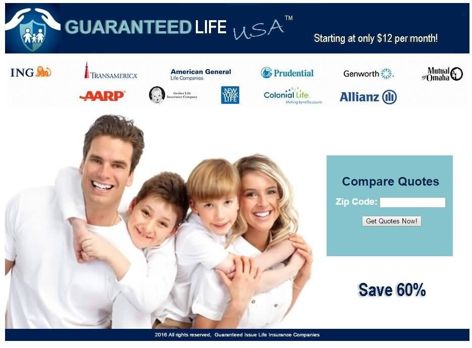 Guaranteed Issue Life Insurance Quotes 11