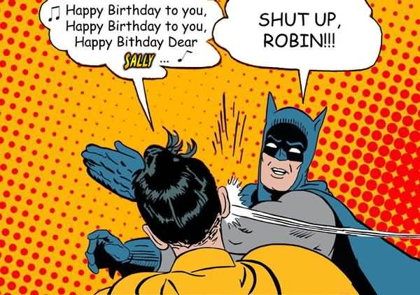 Happy Birthday Batman Meme Photo