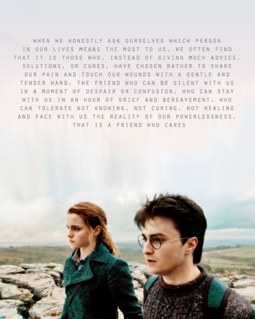 Harry Potter Quote About Friendship 16