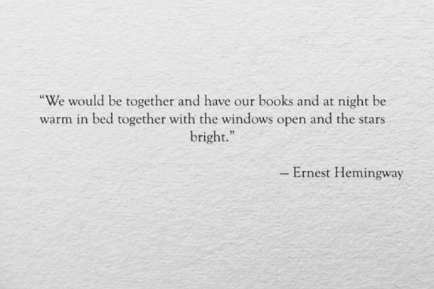 Hemingway Quotes On Love 06
