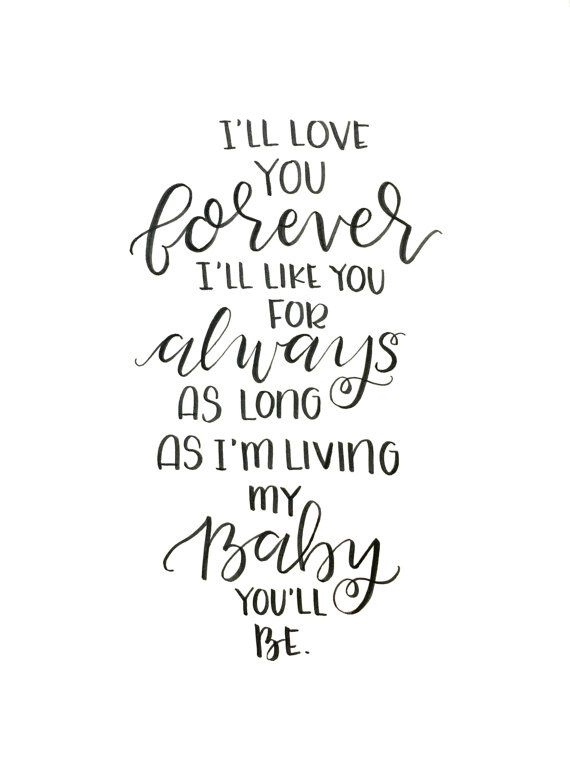 20 I Ll Love You Forever Book Quotes & Images | QuotesBae