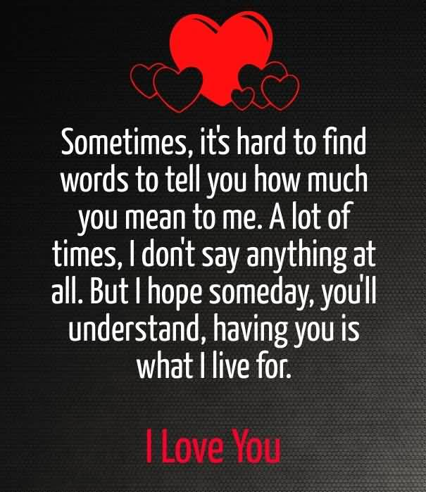 I Love U Sayings And Quotes: 20 I Love U Quotes Sayings Images & Pictures