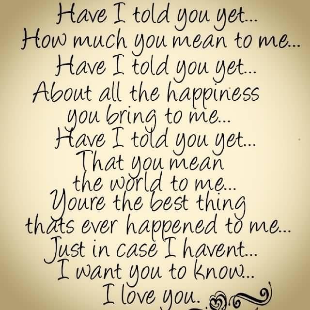 I Love U Quotes 04