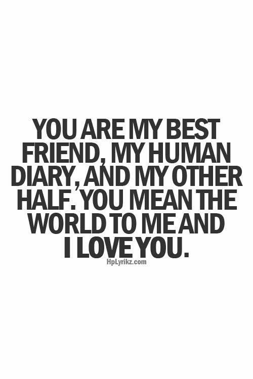 I Love You Bestfriend Quotes 05