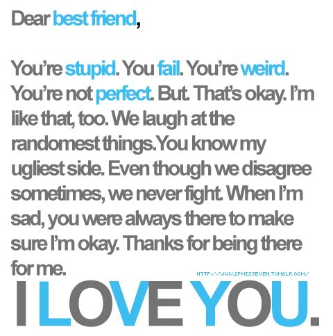 I Love You Bestfriend Quotes 09