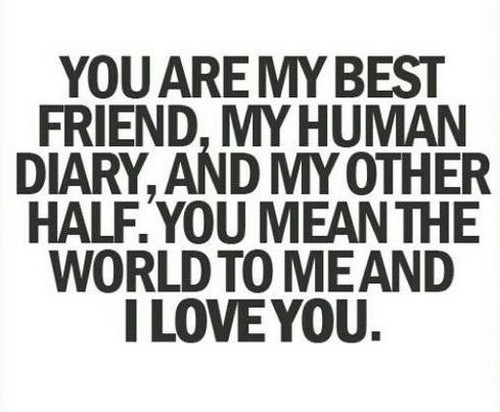 I Love You Bestfriend Quotes 13