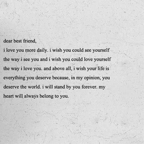 I Love You Bestfriend Quotes 19