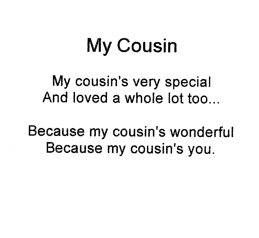 I Love You Cousin Quotes 19
