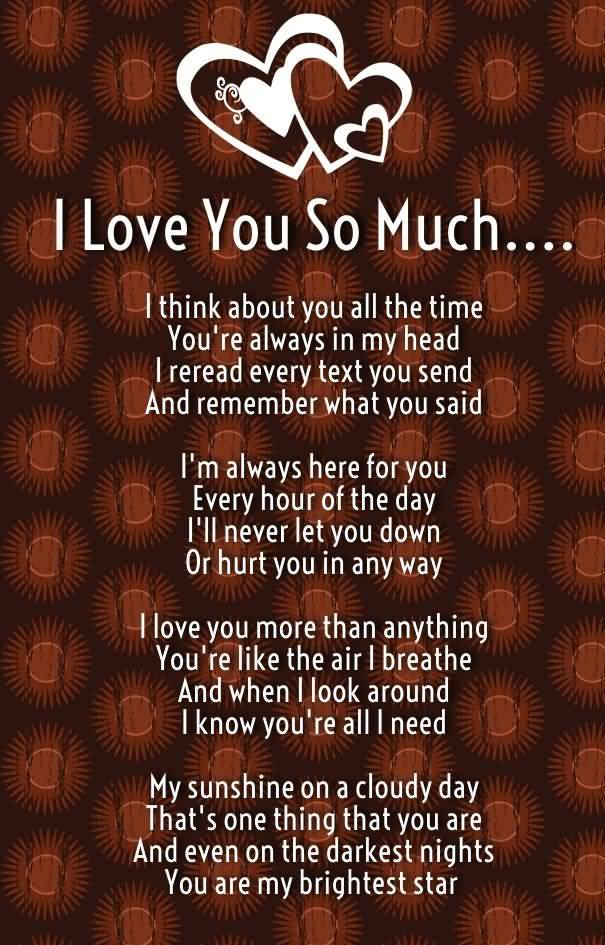 20 I Love You So Much Quotes and Sayings Collection ...