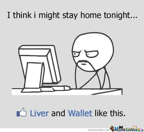 I Think I Might Stay Home Tonight