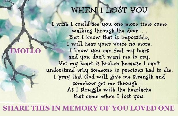 In Memory Of Lost Loved Ones Quotes 07