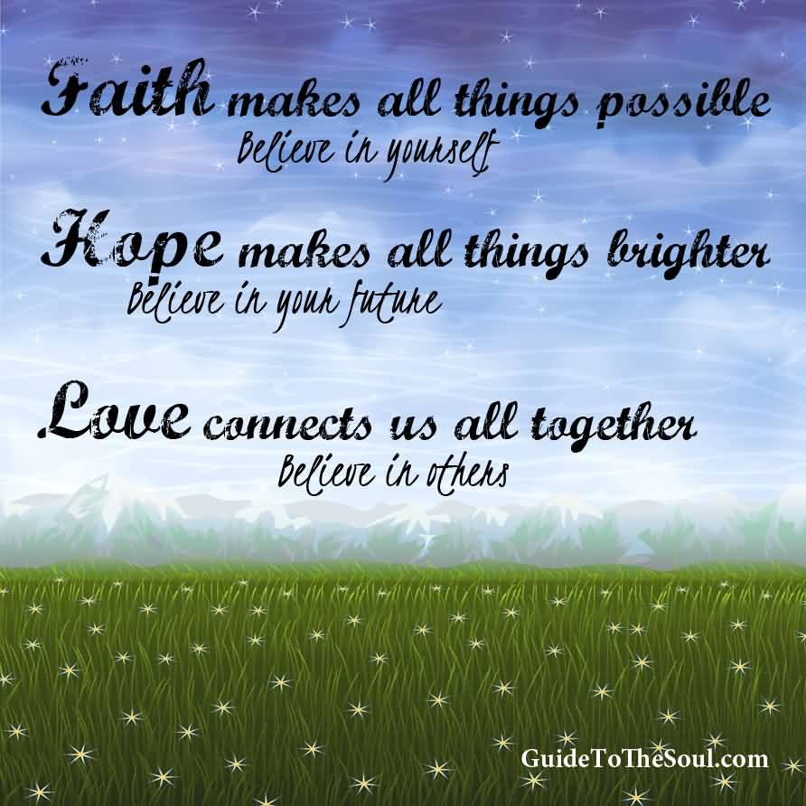 Inspirational Quotes About Faith And Love 13