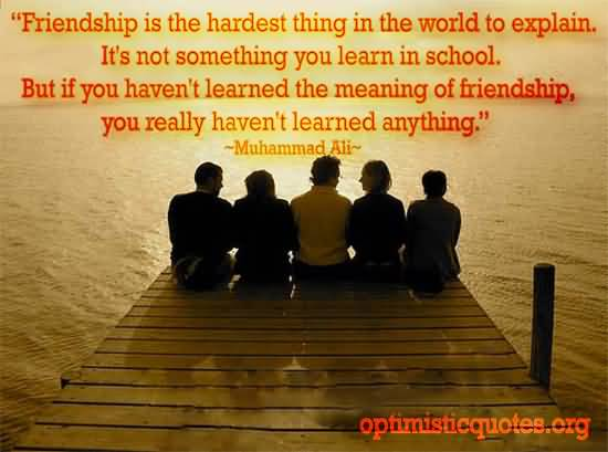 Inspirational Quotes About Friendships 18