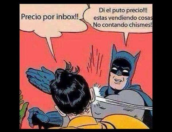 Memes de Batman y Robin en Espanol Joke