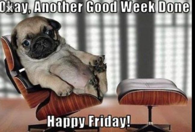 Okay Another Good Work Done Happy Friday!