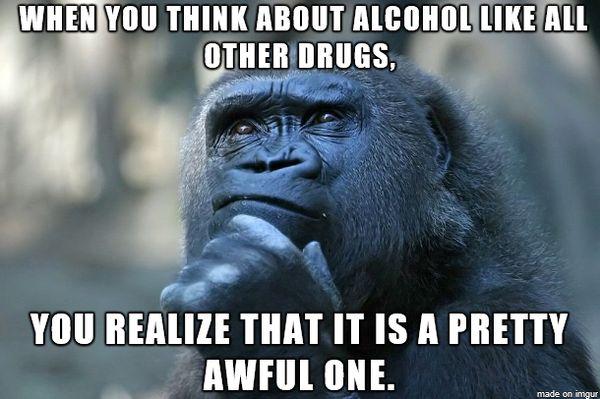 Stop drinking meme image