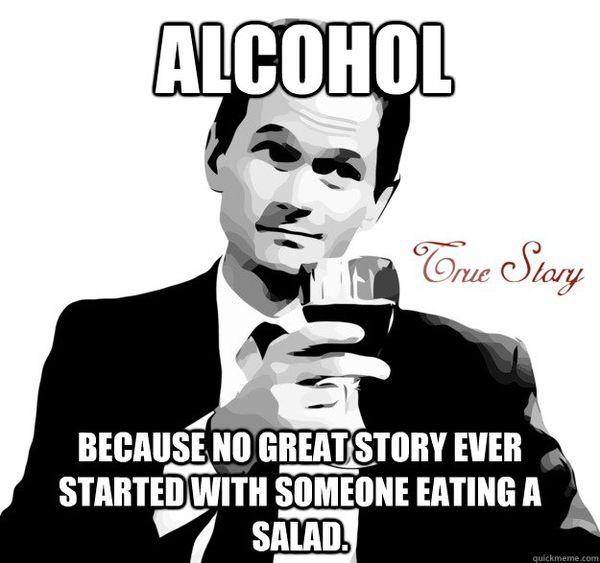 Stop drinking meme joke