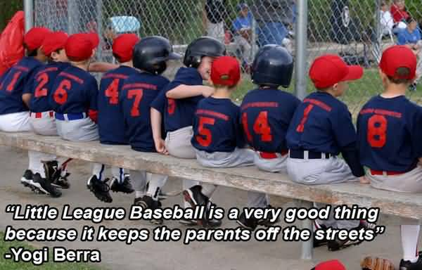 Team baseball parents quotes meme