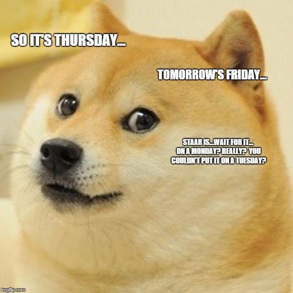 thursday work meme joke