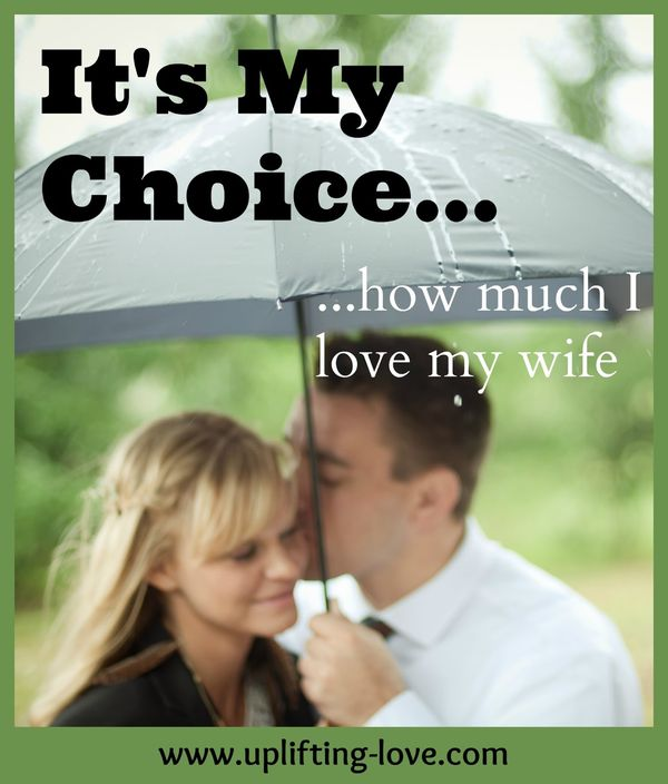 Amusing Its My Choise How Much I Love My Wife Jokes