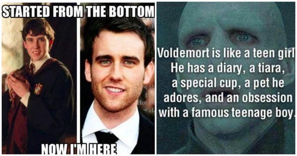 Amusing silly harry potter meme image