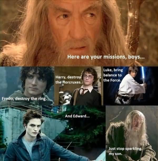 Amusing silly harry potter meme joke