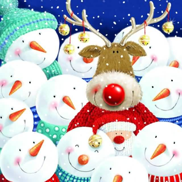 Christmas Cards 2017 Image Picture Photo Wallpaper 06