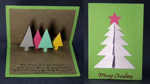 Christmas Cards Handmade Image Picture Photo Wallpaper 04