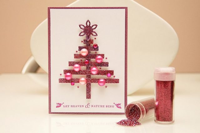 Christmas Cards Handmade Image Picture Photo Wallpaper 06