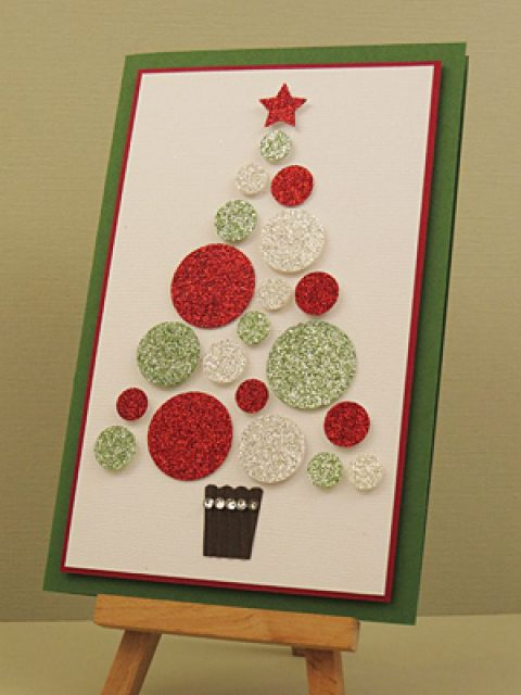 Christmas Cards Handmade Image Picture Photo Wallpaper 08