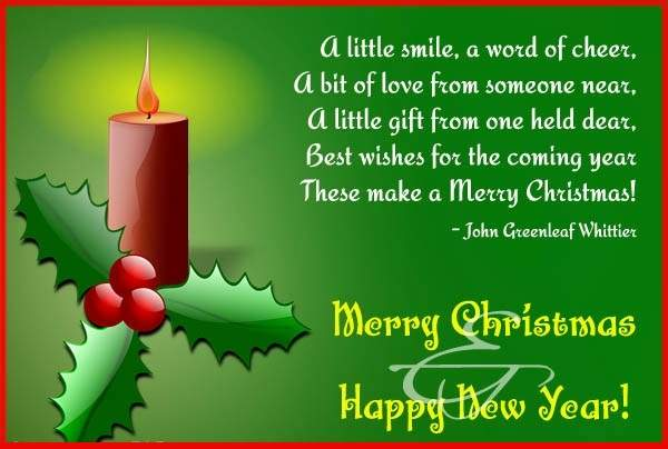 Christmas Poems Image Picture Photo Wallpaper 03