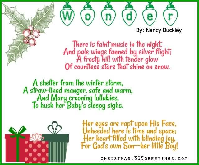 Christmas Poems Image Picture Photo Wallpaper 07