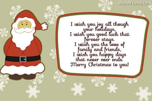 Christmas Poems Image Picture Photo Wallpaper 11