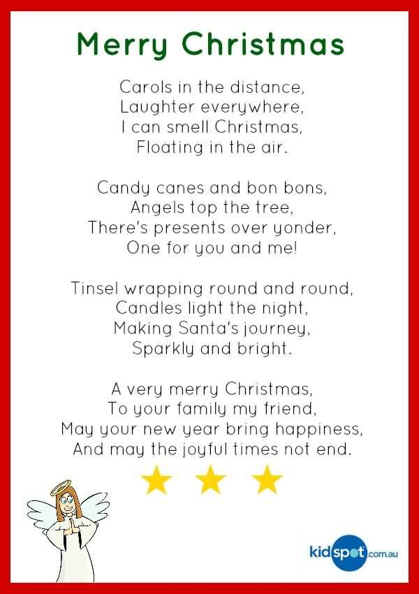 Christmas Poems Image Picture Photo Wallpaper 12