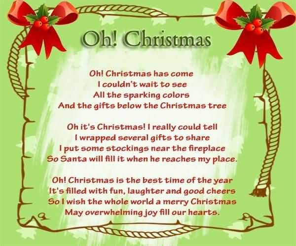 Christmas Poems Image Picture Photo Wallpaper 14