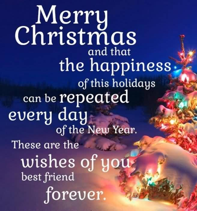 Christmas Quotes For Friends Image Picture Photo Wallpaper 04