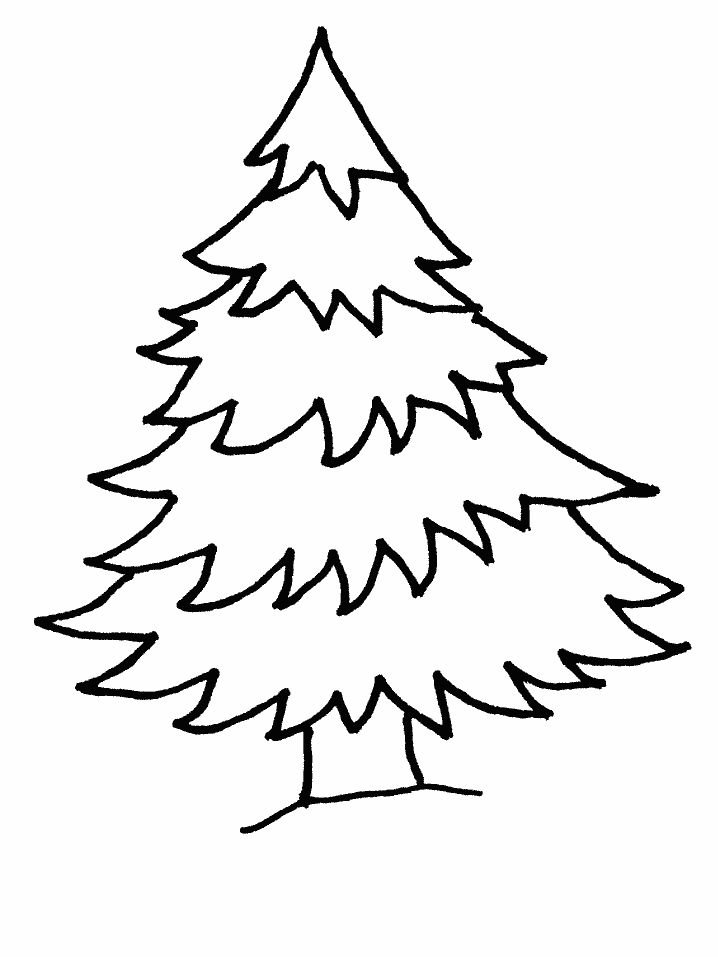 Christmas Tree Coloring Pages Image Picture Photo Wallpaper 05