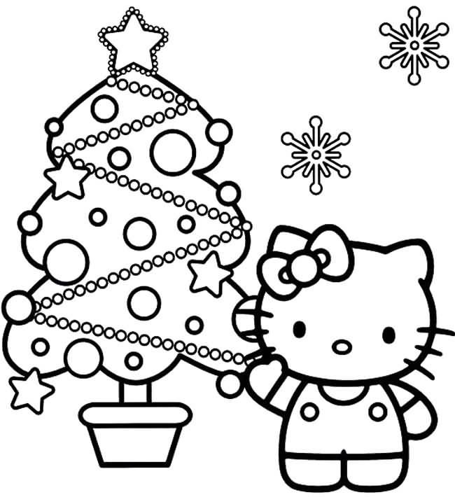 Christmas Tree Coloring Pages Image Picture Photo Wallpaper 06