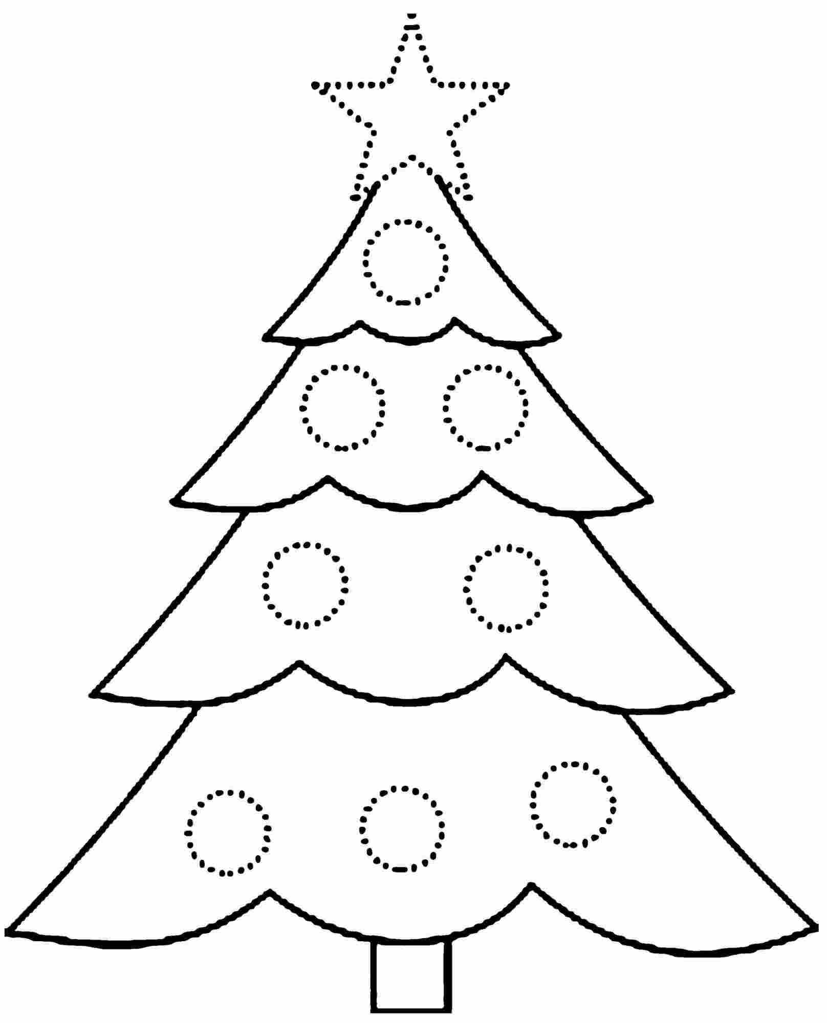 Christmas Tree Coloring Pages Image Picture Photo Wallpaper 19
