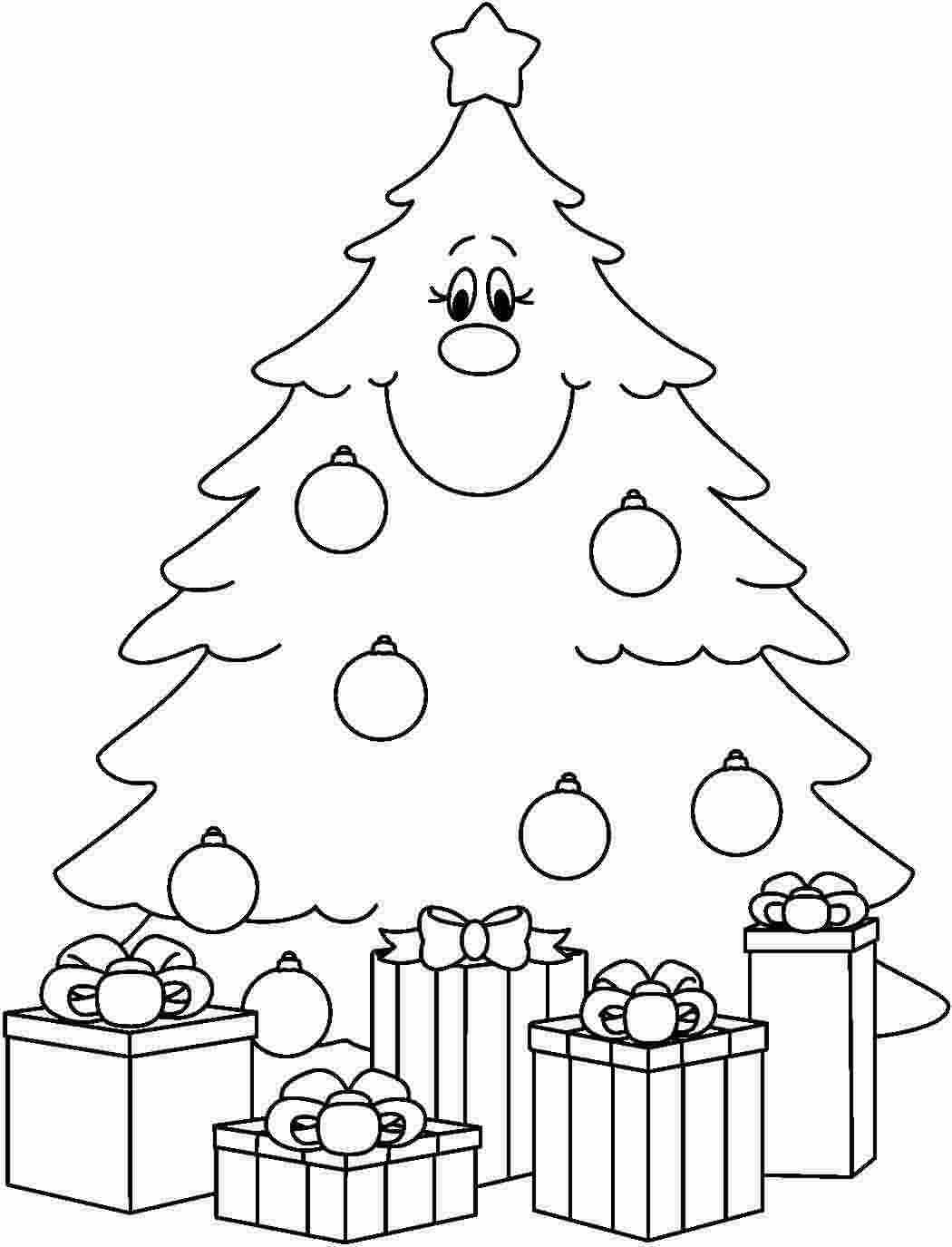Christmas Tree Coloring Pages Image Picture Photo Wallpaper 20
