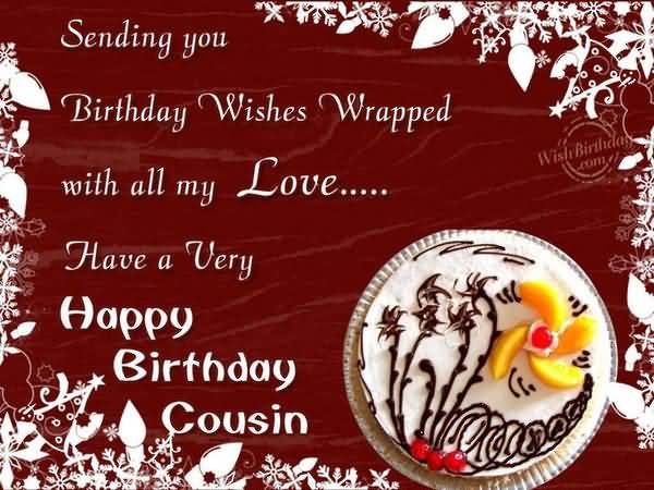 Funniest Happy Birthday Cousin Cake Picture Meme